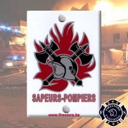 Plaque Pare-brise Sapeurs-Pompiers