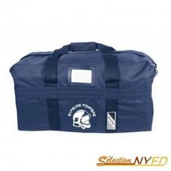 sac de transport marquage sapeurs pompier couleur bleu