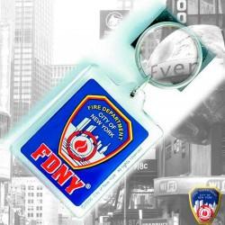 Porte-clés Bleu Ed3