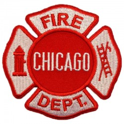 Ecusson Chicago Fire