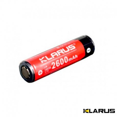 Batterie rechargeable Klarus de type 18650 pour lampe d'intervention