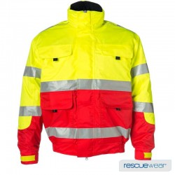 "vetement ambulancier parka Pilot Jacket RescueWear ""Emergency Hero"""