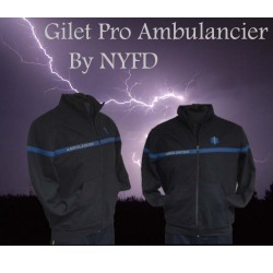vêtement ambulancier gilet veste sweat