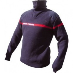 Pull Col Zip Sapeurs-Pompiers