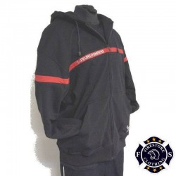 Sweat Full Zip Capuche Sapeurs-Pompiers