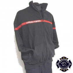 Sweat Full Zip Sapeurs-Pompiers
