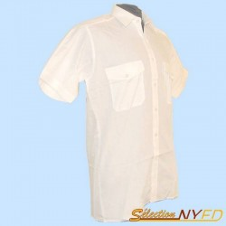 Chemise Pilote blanche