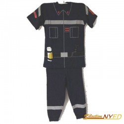 "Pyjama Enfant ""Capitaine Sapeurs-Pompiers"""