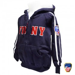 Sweat capuche  Enfant FDNY Gris