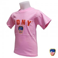 T-shirt Enfant FDNY Rose