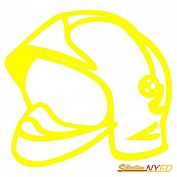 Sticker Casque F1