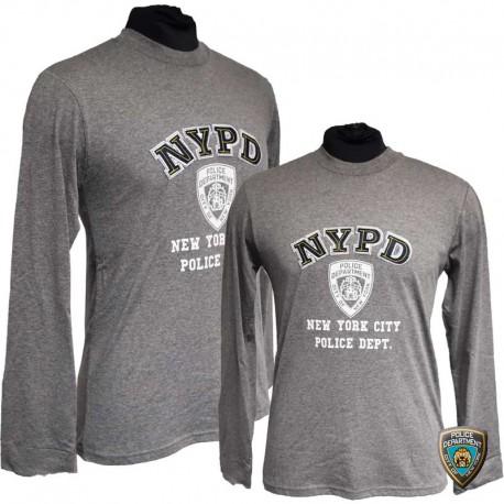 T-shirt NYPD Bleu Navy