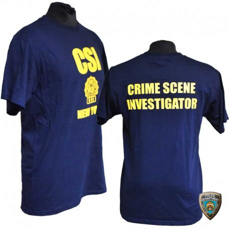 "T-shirt CSI ""Crime Scene Investigator"""