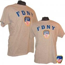 T-shirt FDNY Gris/Bleu