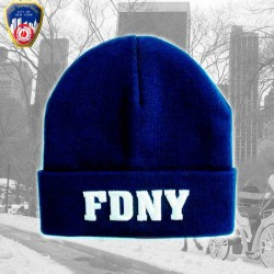 Bonnet FDNY couleur Navy