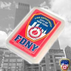 Jeu de cartes FDNY Rouge