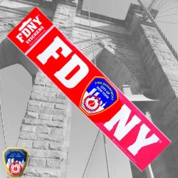 Sticker FDNY