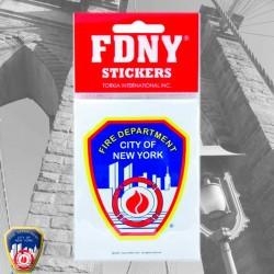 Sticker logo FDNY