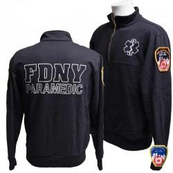 Sweat JOB FDNY Paramedic Navy