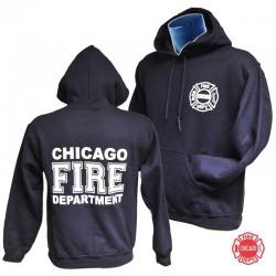Sweat capuche Chicago Fire