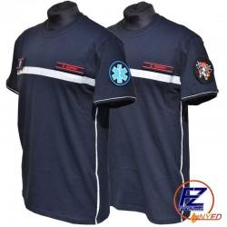 T-Shirt Rescue Hero Fire Zone